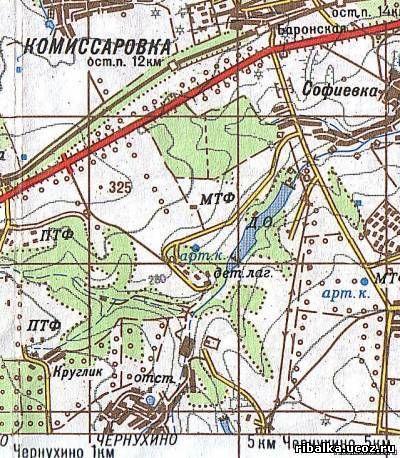 карта клева рыбы в луганской обл